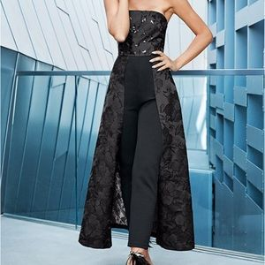 Venus Sequin style black detailed jumpsuit. Size 2